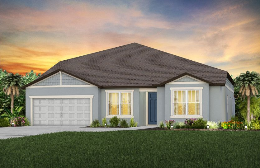 Exterior featured in the Easley Grand By Pulte Homes in Tampa-St. Petersburg, FL