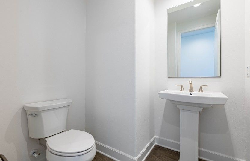 Bathroom featured in the Plan Two By Pulte Homes in Orange County, CA
