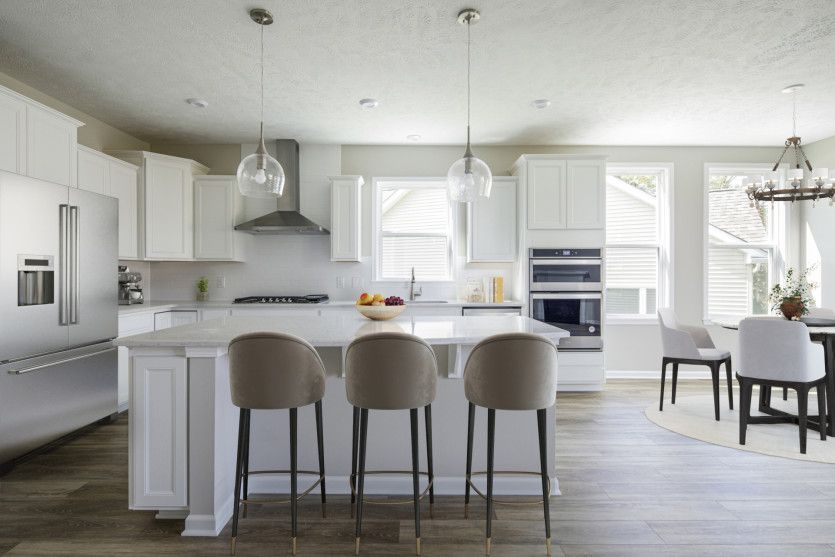 Kitchen featured in the Abbeyville By Pulte Homes in Cleveland, OH