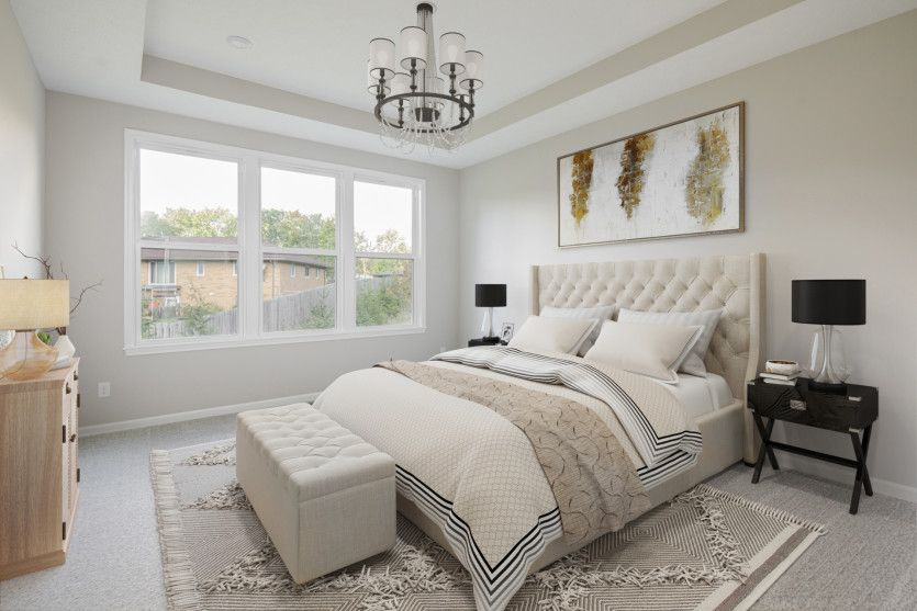 Bedroom featured in the Abbeyville By Pulte Homes in Cleveland, OH