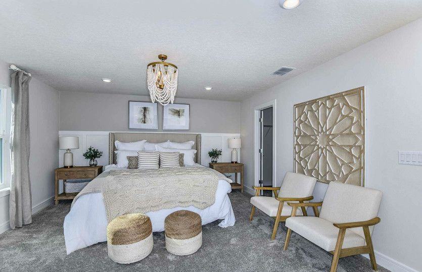 Bedroom featured in the Tower By Pulte Homes in Tampa-St. Petersburg, FL