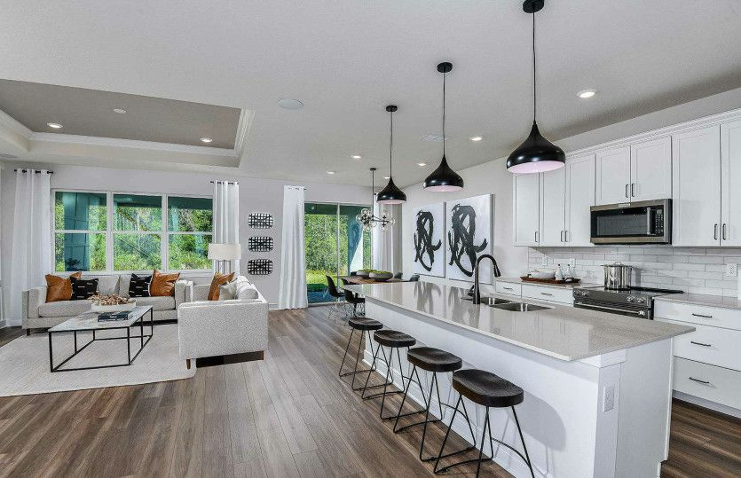 Kitchen featured in the Whitestone By Pulte Homes in Tampa-St. Petersburg, FL