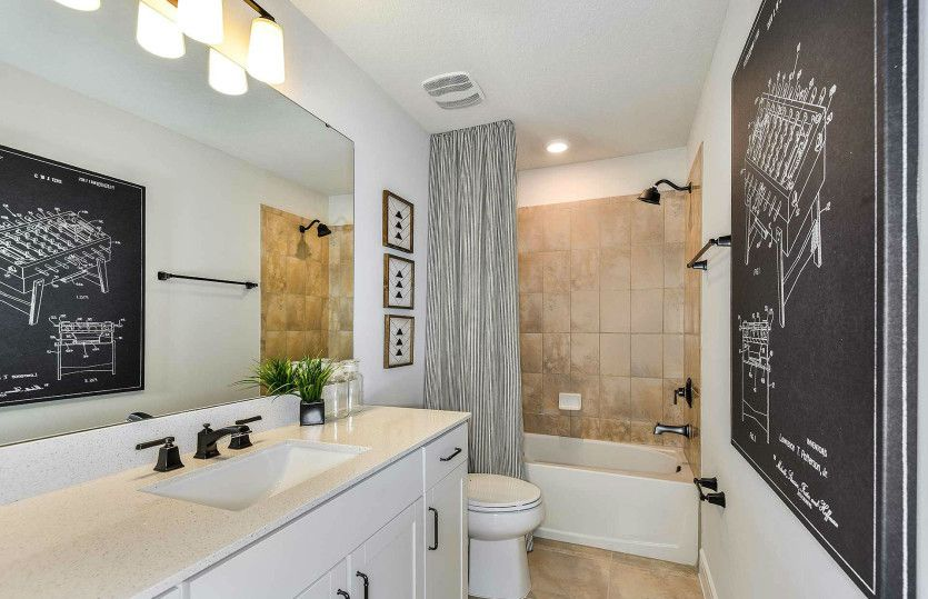 Bathroom featured in the Whitestone By Pulte Homes in Tampa-St. Petersburg, FL