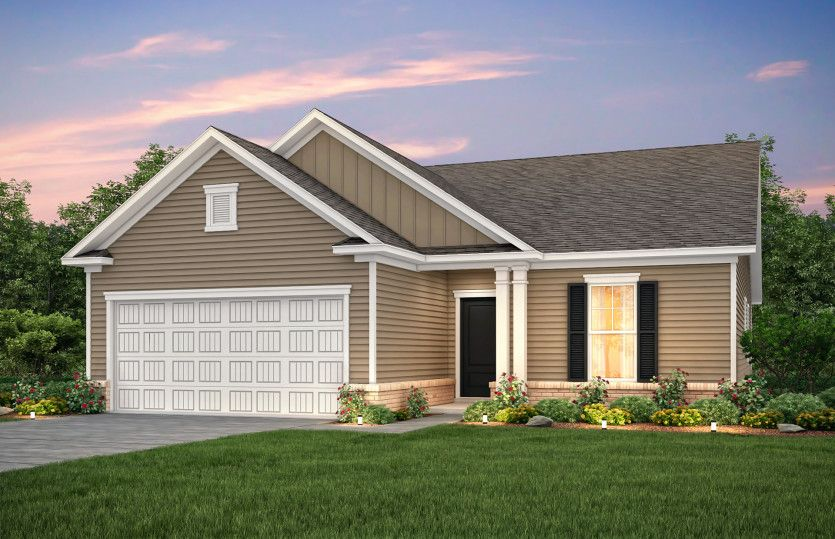 Exterior featured in the Compton By Pulte Homes in Wilmington, NC