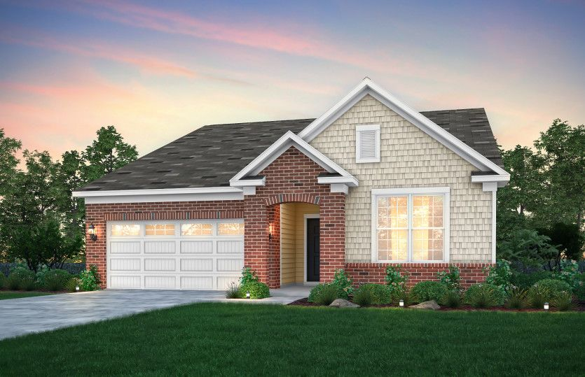 Exterior featured in the Ascend By Pulte Homes in Akron, OH