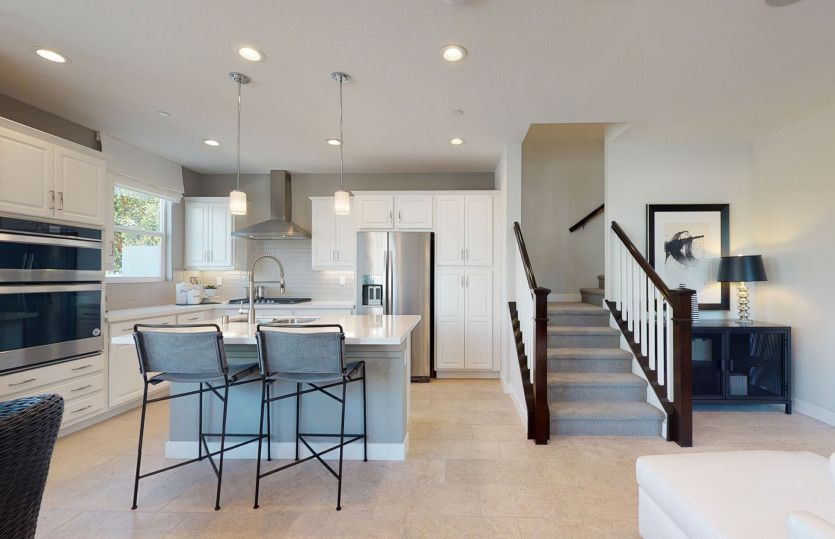 Kitchen featured in the Residence 1 By Pulte Homes in Los Angeles, CA