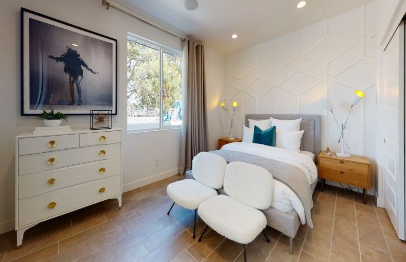 Bedroom featured in the Residence 3 By Pulte Homes in Los Angeles, CA