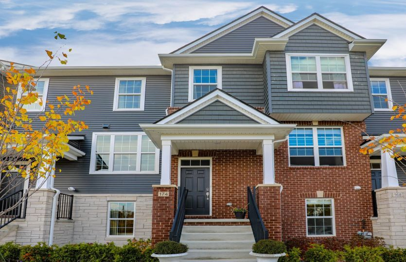 Exterior featured in the Trenton By Pulte Homes in Detroit, MI