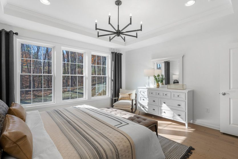 Bedroom featured in the Tuscan By Pulte Homes in Boston, MA