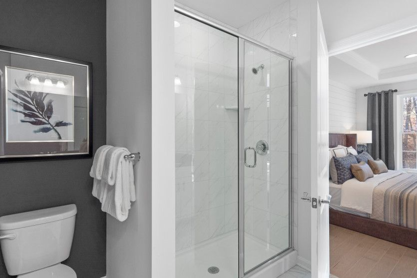 Bathroom featured in the Tuscan By Pulte Homes in Boston, MA
