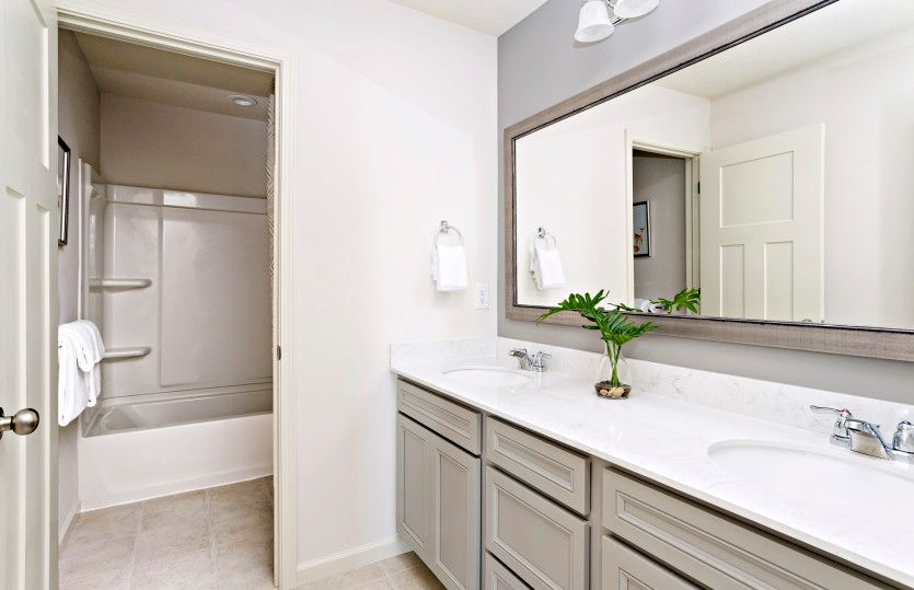 Bathroom featured in the Fifth Avenue By Pulte Homes in Minneapolis-St. Paul, MN
