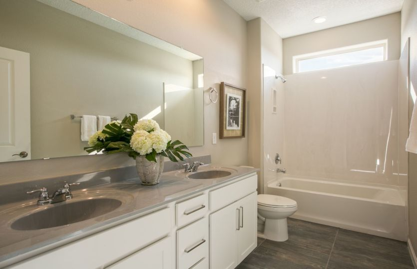 Bathroom featured in the Trento By Pulte Homes in Albuquerque, NM