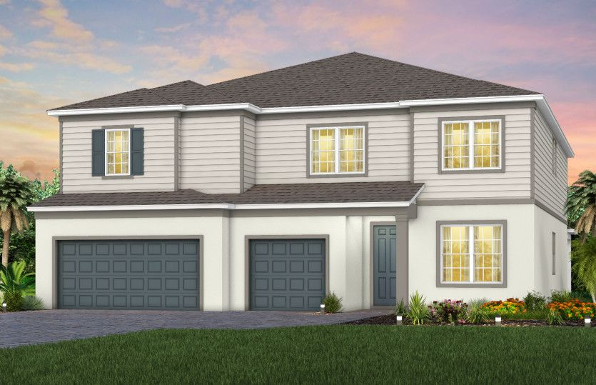 Exterior featured in the Upton By Pulte Homes in Orlando, FL