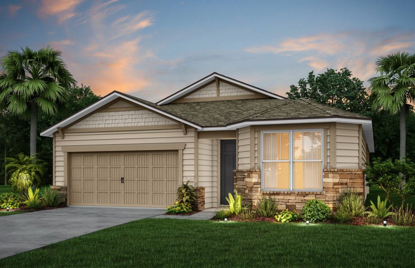 Exterior featured in the Highgate By Pulte Homes in Jacksonville-St. Augustine, FL