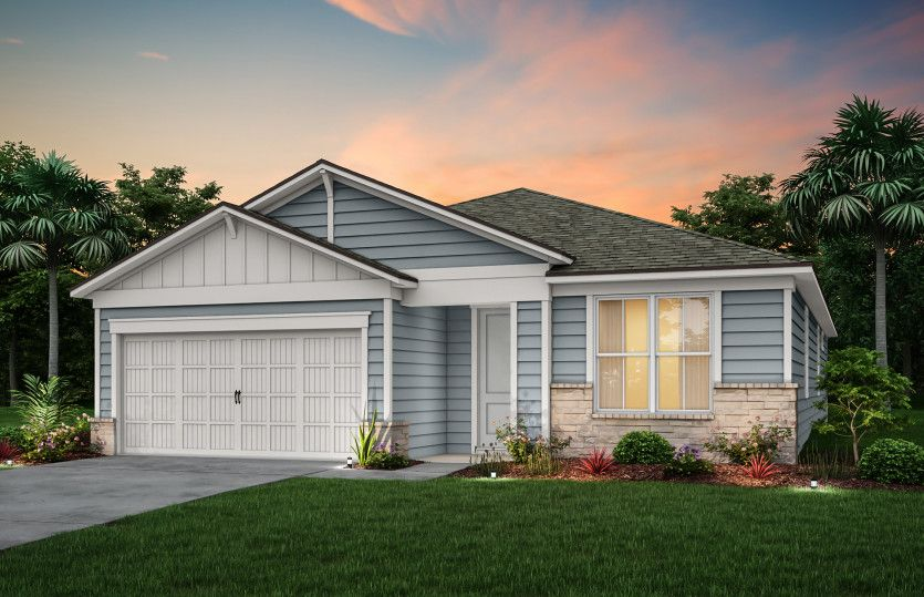 Exterior featured in the Spruce By Pulte Homes in Jacksonville-St. Augustine, FL