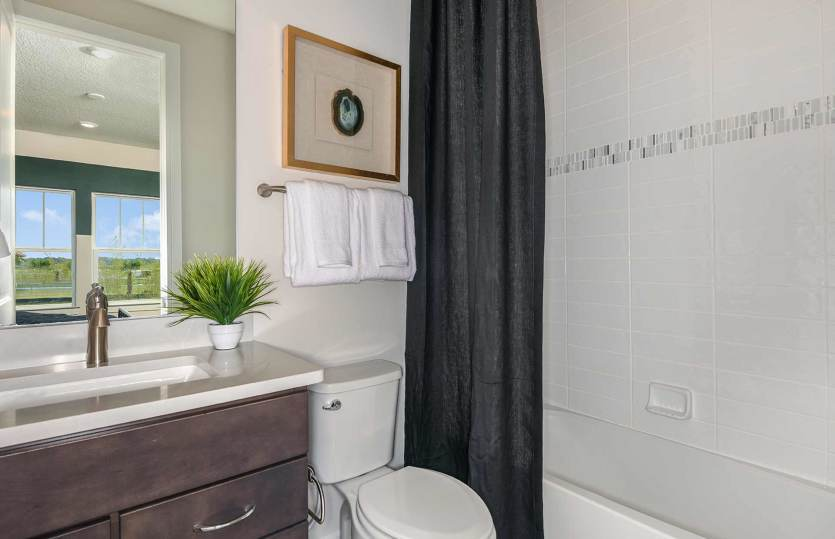 Bathroom featured in the Yorkshire By Pulte Homes in Sarasota-Bradenton, FL