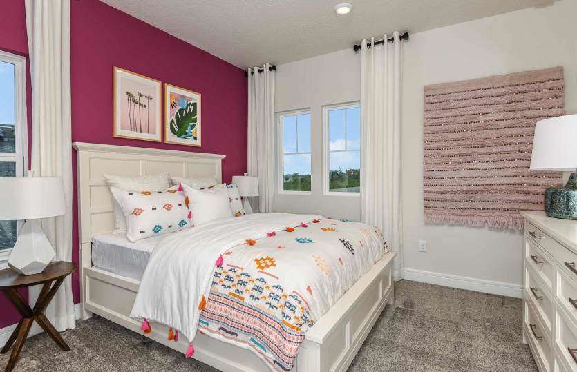 Bedroom featured in the Yorkshire By Pulte Homes in Tampa-St. Petersburg, FL