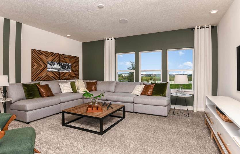 Living Area featured in the Yorkshire By Pulte Homes in Tampa-St. Petersburg, FL