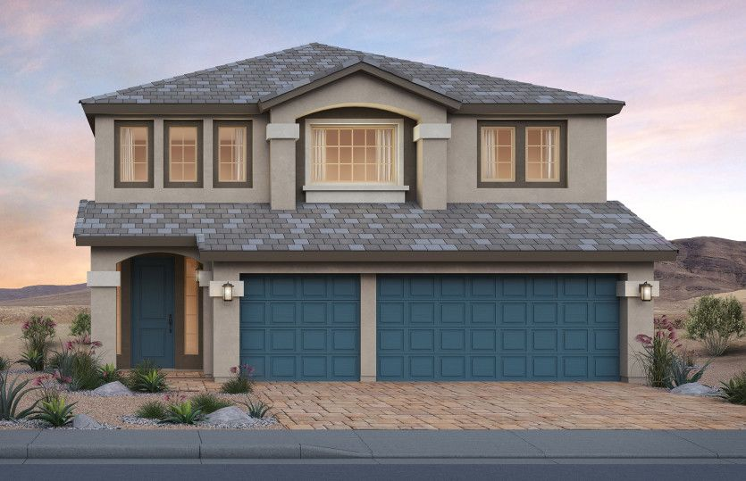 Exterior featured in The Harper By Pulte Homes in Las Vegas, NV