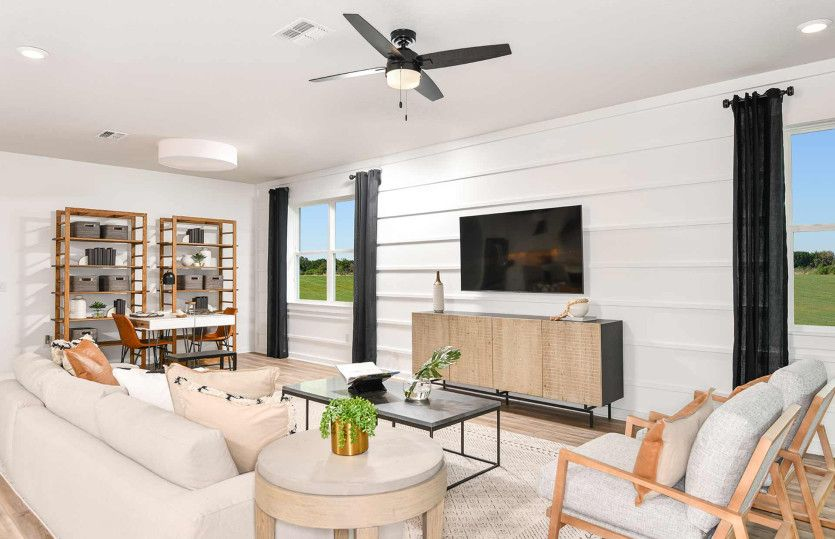 Living Area featured in the Mystique By Pulte Homes in Tampa-St. Petersburg, FL