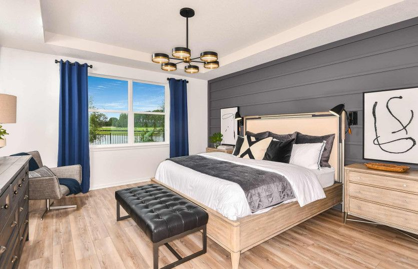 Bedroom featured in the Mystique By Pulte Homes in Tampa-St. Petersburg, FL