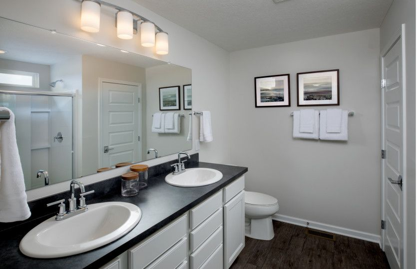 Bathroom featured in the Hampton By Pulte Homes in Columbus, OH