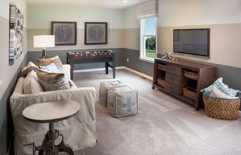 Living Area featured in the Mitchell By Pulte Homes in Cleveland, OH