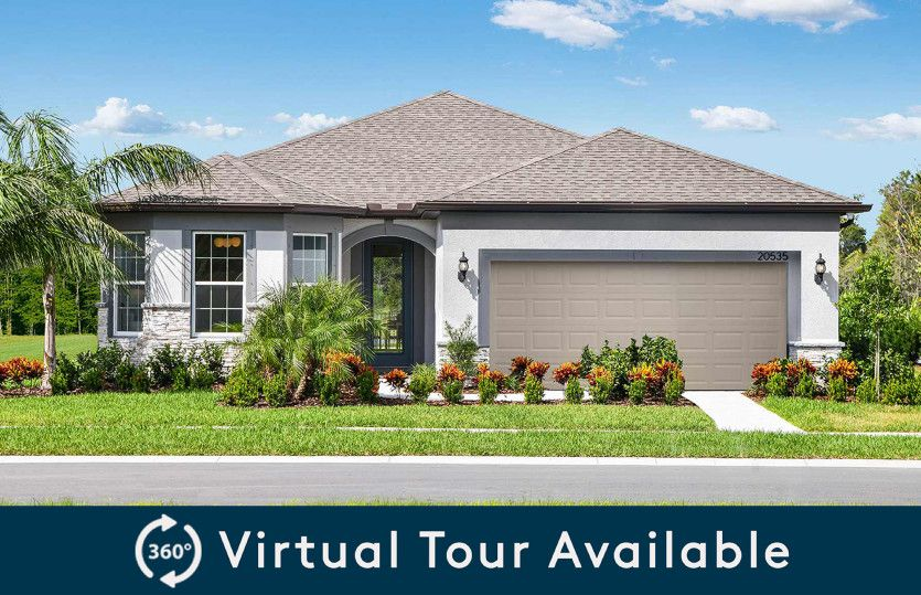 Exterior featured in the Mystique By Pulte Homes in Tampa-St. Petersburg, FL