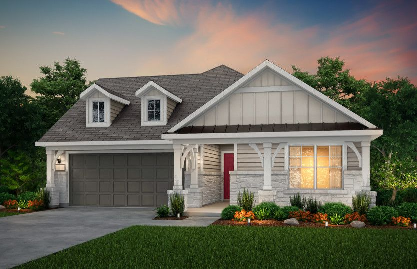 Exterior featured in the Arlington By Pulte Homes in San Antonio, TX