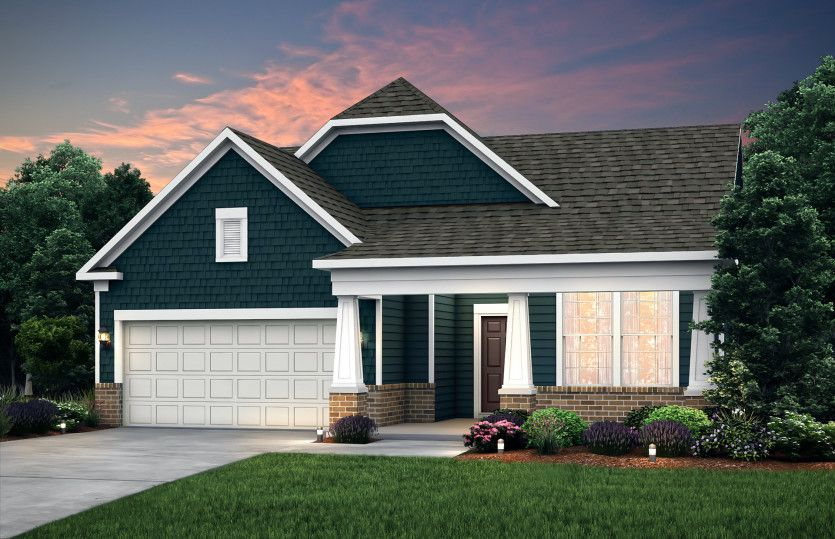 Exterior featured in the Bedrock with Basement By Pulte Homes in Ann Arbor, MI