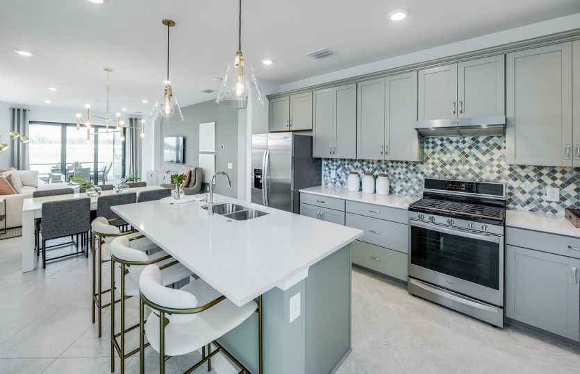 Kitchen featured in the Hallmark By Pulte Homes in Naples, FL
