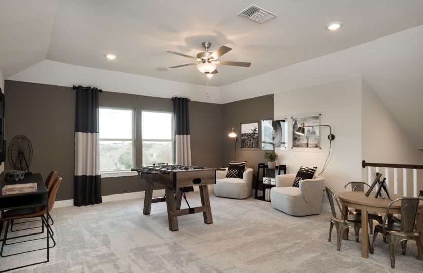 Living Area featured in the Mooreville By Pulte Homes in Austin, TX
