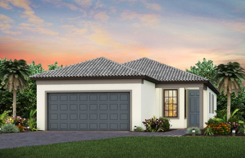 Exterior featured in the Crestwood By Pulte Homes in Sarasota-Bradenton, FL