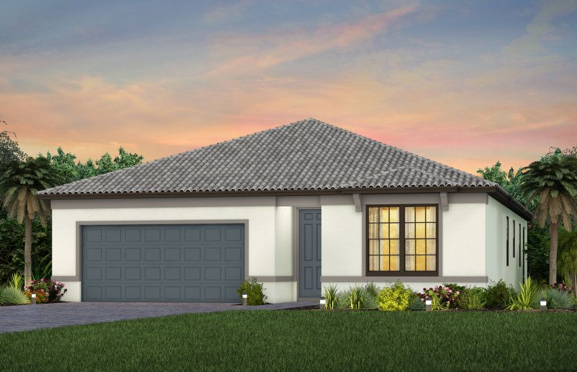 Exterior featured in the Highgate By Pulte Homes in Naples, FL