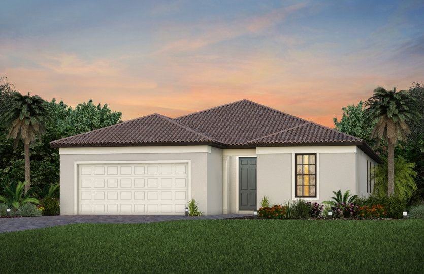 Exterior featured in the Mystique By Pulte Homes in Naples, FL