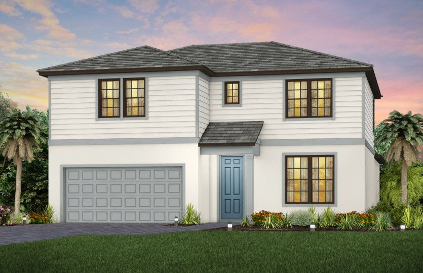 Exterior featured in the Whitestone By Pulte Homes in Naples, FL