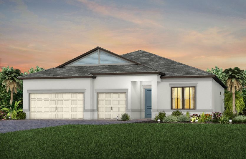 Exterior featured in the Ashby By Pulte Homes in Naples, FL