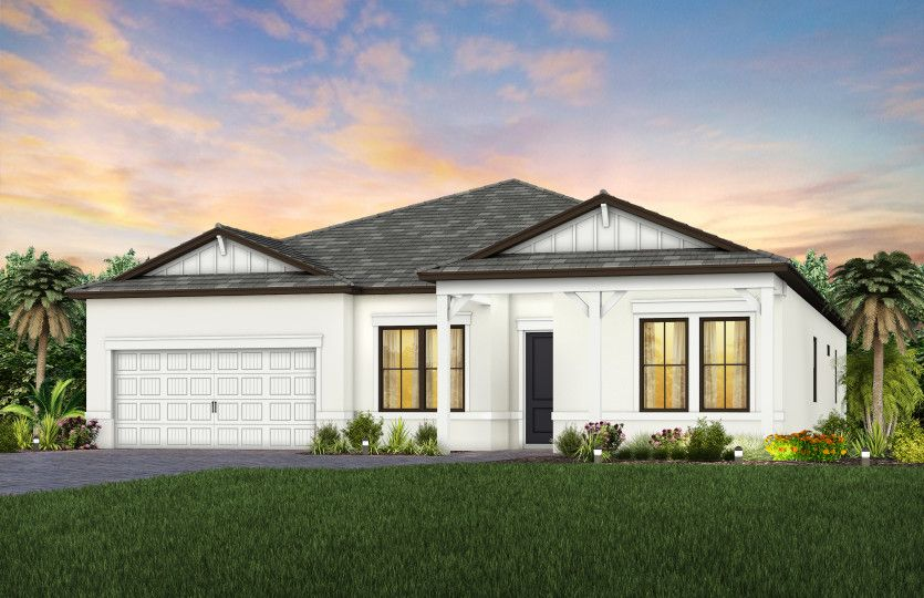 Exterior featured in the Easley By Pulte Homes in Naples, FL