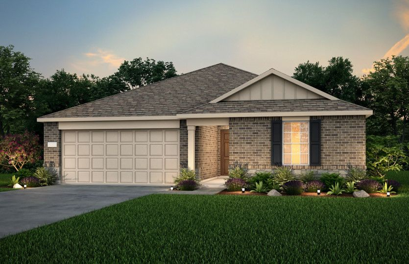 Exterior featured in the Rayburn By Pulte Homes in Dallas, TX