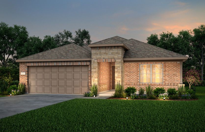 Exterior featured in the Eastgate By Pulte Homes in Dallas, TX