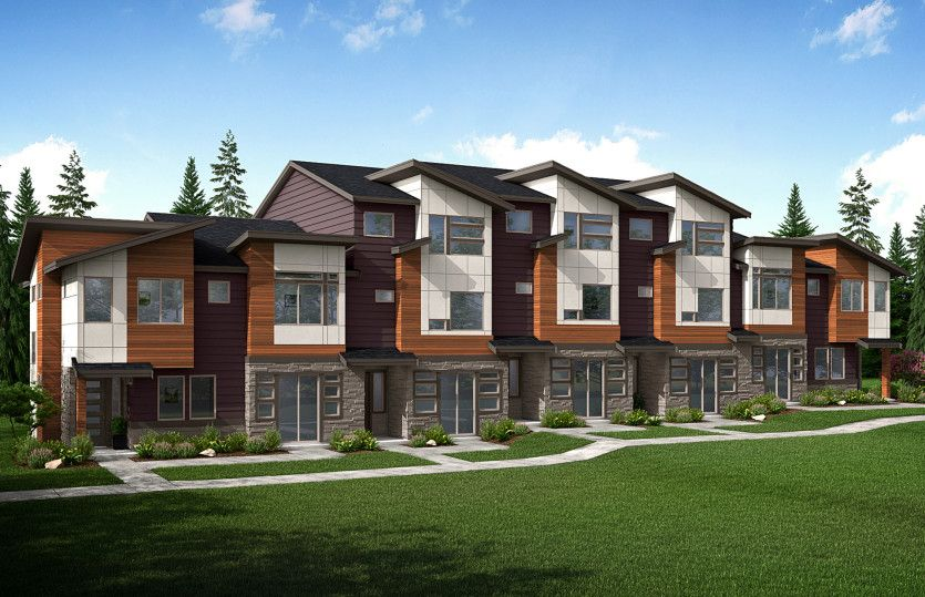Exterior featured in the Unit H.2 By Pulte Homes in Bremerton, WA