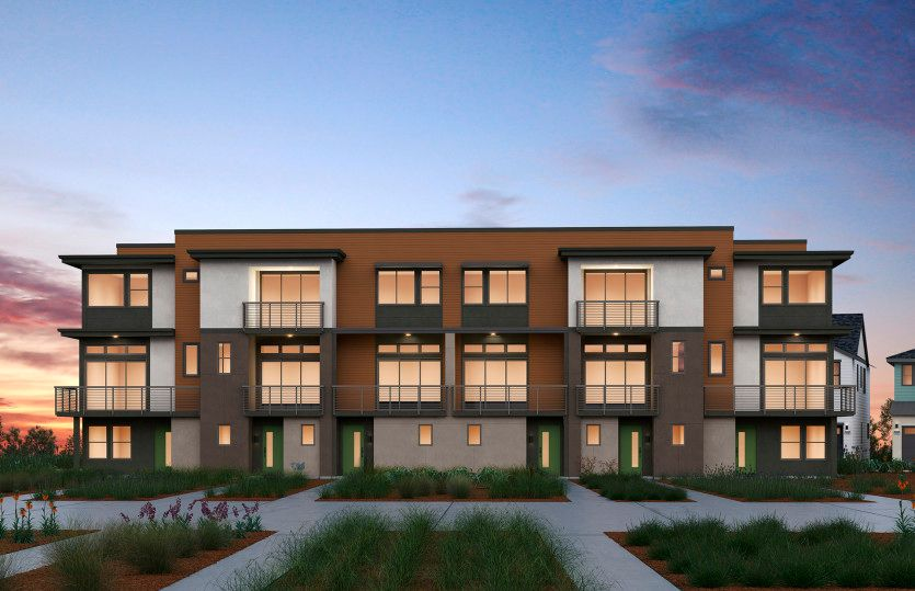 Exterior featured in the Plan 3C By Pulte Homes in San Francisco, CA