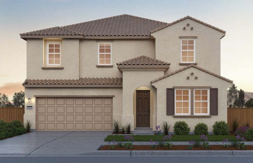 Exterior featured in the Dahlia By Pulte Homes in Stockton-Lodi, CA