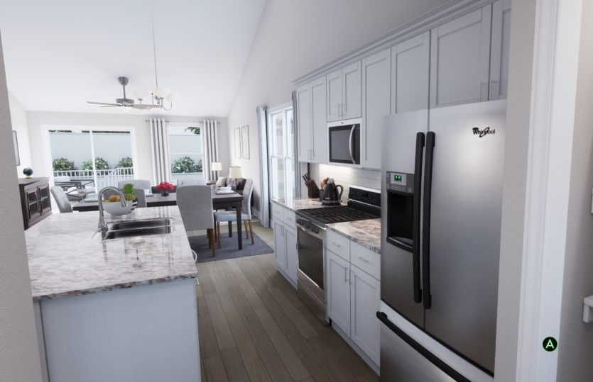 Kitchen featured in the Kensington By Pulte Homes in Minneapolis-St. Paul, MN
