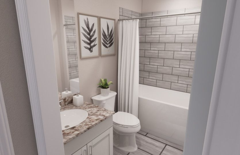 Bathroom featured in the Kensington By Pulte Homes in Minneapolis-St. Paul, MN