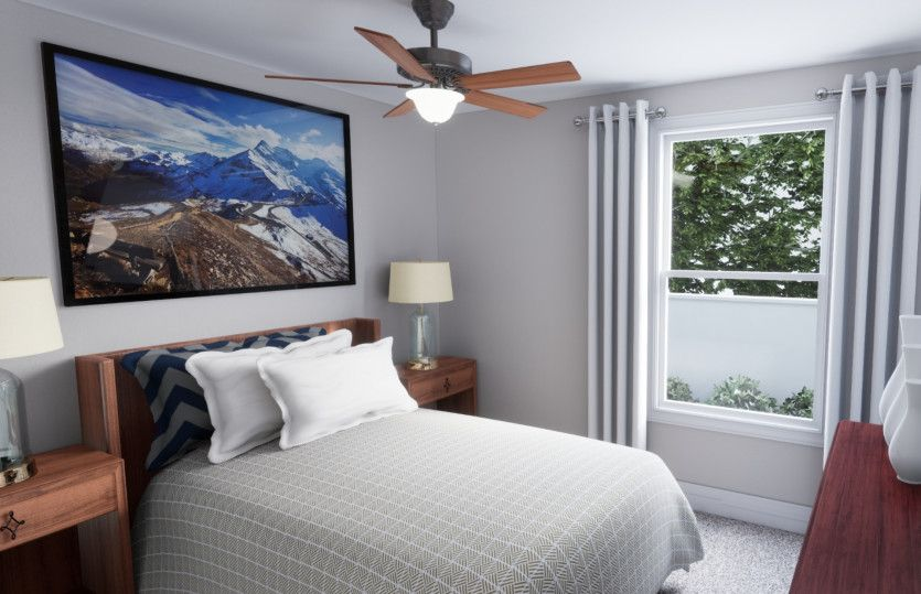 Bedroom featured in the Kensington By Pulte Homes in Minneapolis-St. Paul, MN