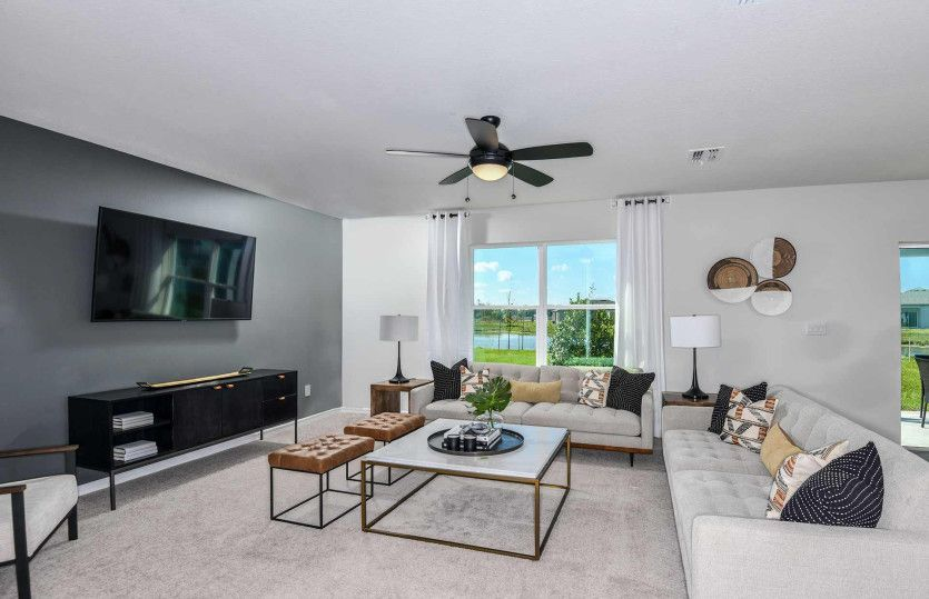 Living Area featured in the Henley By Pulte Homes in Tampa-St. Petersburg, FL