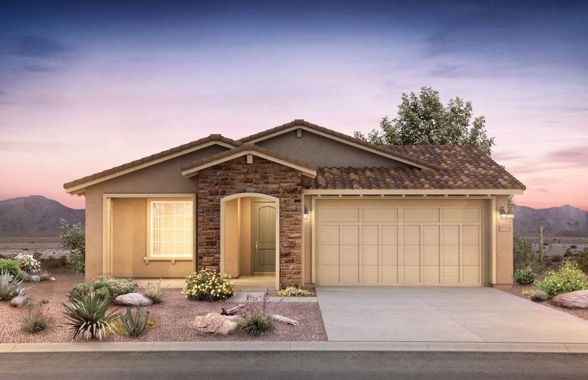 Exterior featured in the Barletta By Pulte Homes in Phoenix-Mesa, AZ