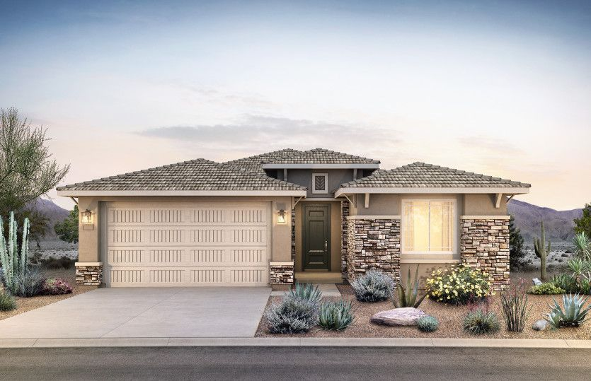 Exterior featured in the Acerra By Pulte Homes in Phoenix-Mesa, AZ