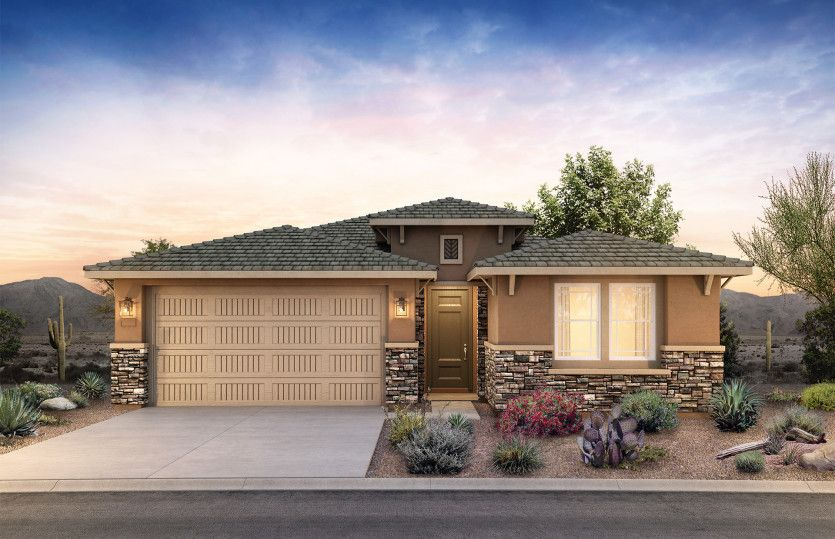 Exterior featured in the Cantania By Pulte Homes in Phoenix-Mesa, AZ